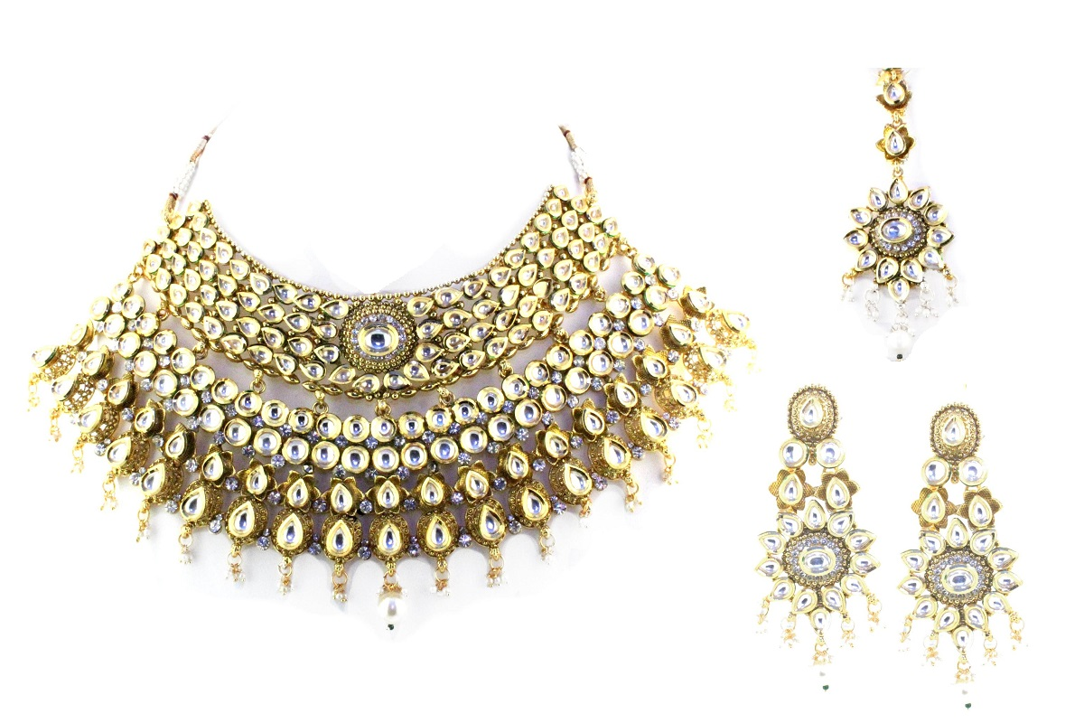 INDIAN JEWELRY BRIDAL SET RADHA