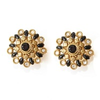 amla indian earrings front