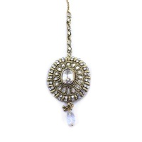 anusha clear indian jewelry tikka