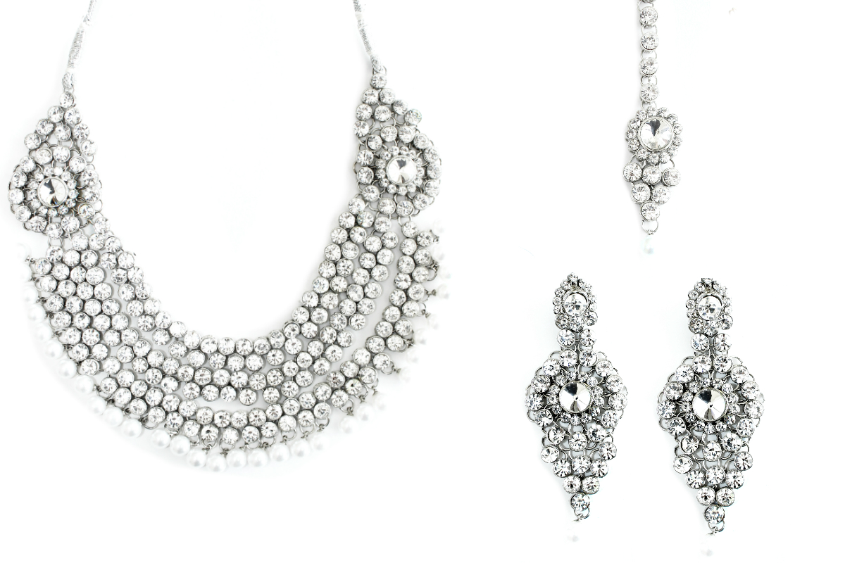 indian jewelry bridal set vishva