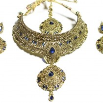 indian jewelry falah necklace set