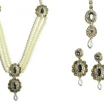 indian jewelry hawa necklace set