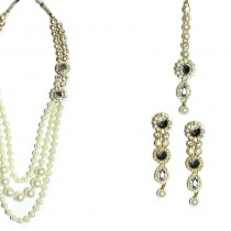 indian jewelry inbha necklace set