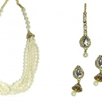 indian jewelry kani necklace set