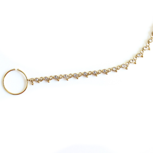 indian jewelry nose ring nath taban
