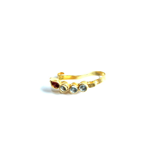 INDIAN JEWELRY NOSE RING ONI