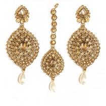 indian jewelry tikka set kamini
