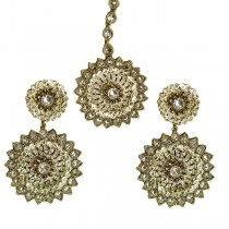 indian jewelry tikka set zebar tikka set