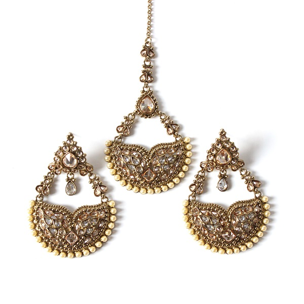 Indian Jewelry Tikka Set