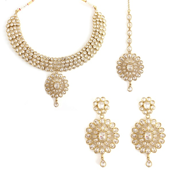 ARTIFICIAL JEWELRY BRIDAL SET