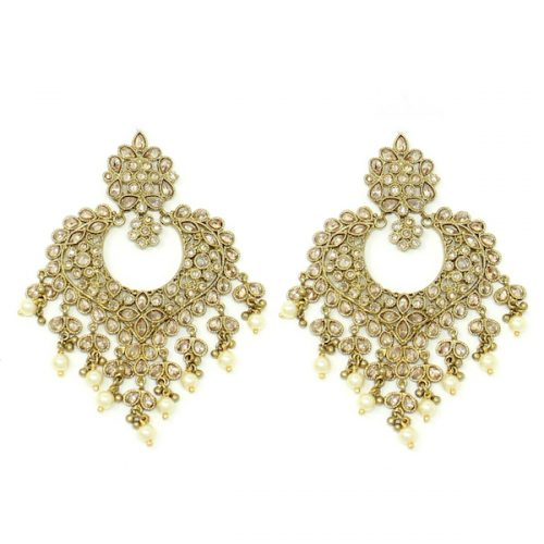 Indian Jewelry Polki Tikka Set