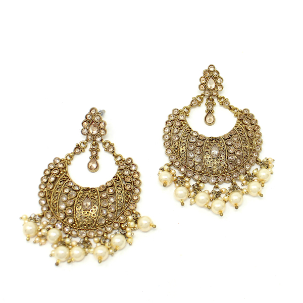 Indian Jewelry Kundan Tikka Set