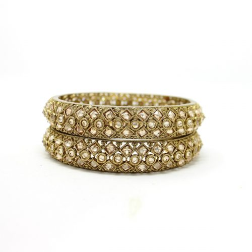Indian Jewelry Antique Gold Bangles Kada