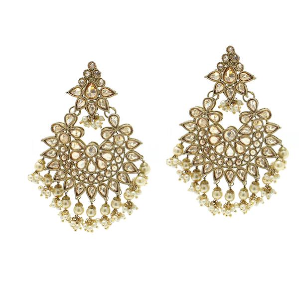 Indian Jewelry Earring Tikka Set Binnaz