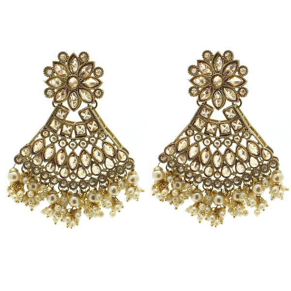 Indian Jewelry Earring Tikka Set Chitrani