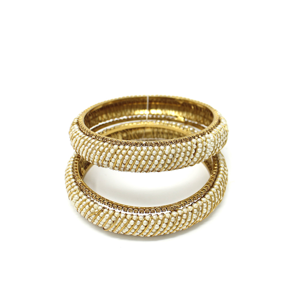 Indian Jewelry Antique Gold Deysi Bangles Kangan