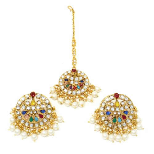 Indian Jewelry Diva Tikka Set