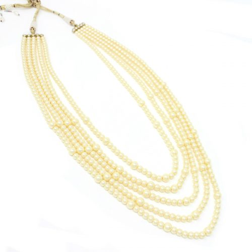 Indian Jewelry Mala Necklace Pearl