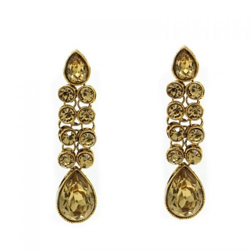 Indian Jewelry Earring Tikka Set