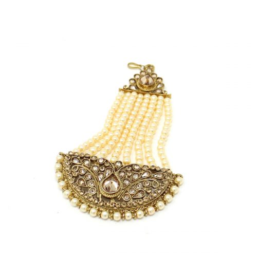 Indian Jewelry Antique Gold Jhoomar