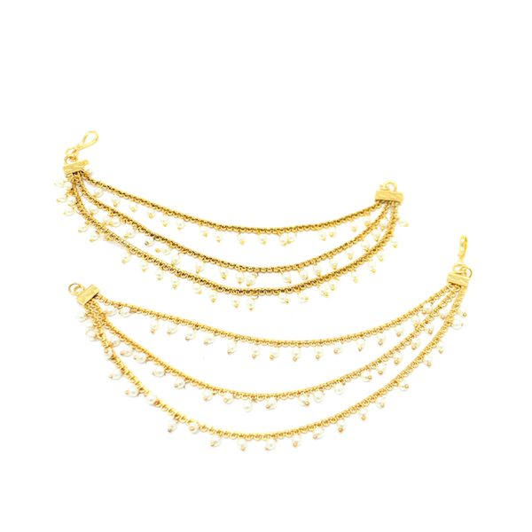 Antique Gold Earring Chains