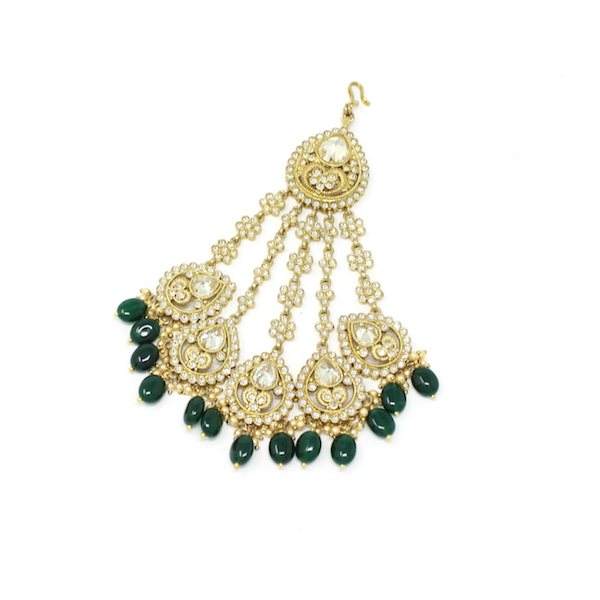 Indian Jewelry Jhoomar Passa Hair Accessories
