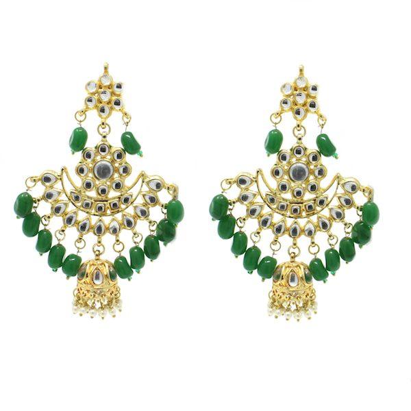 Indian Jewelry Kundan Necklace Set