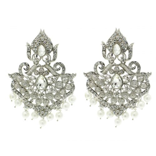 Indian Jewelry Jhoomar Passa Tikka Set