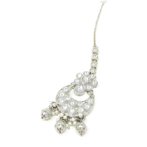 Indian Jewelry Subhi Silver Earring Tikka