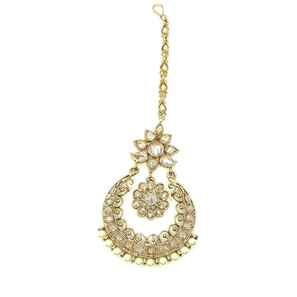 Indian Jewelry Tariya Tikka Set Kundan Polki Set