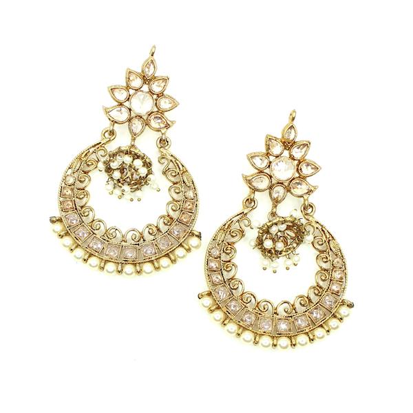 Indian Jewelry Tariya Tikka Set Kundan Polki Set Antique Gold Tikka Set