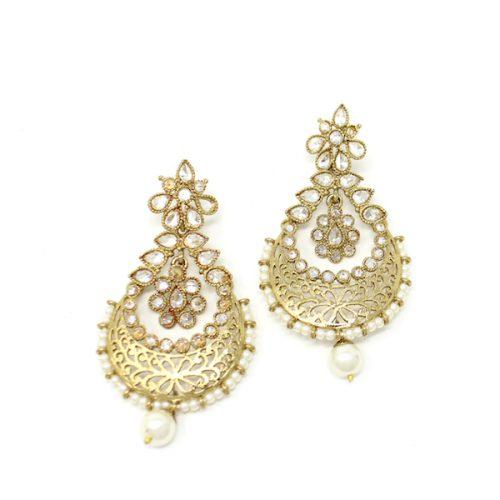 Indian Jewelry Kundan Tikka Set