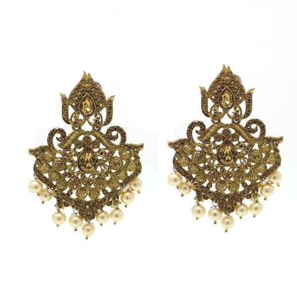 Indian Jewelry Tikka Set Jhoomar Earrings