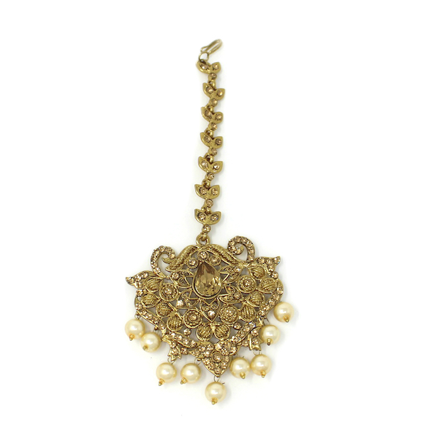 Indian Jewelry Tikka Jhoomar Set