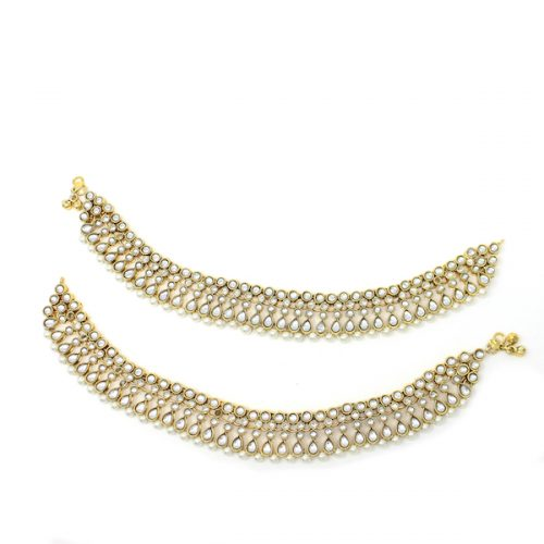 Indian Jewelry Payal Anklet Jhanjar Maheen