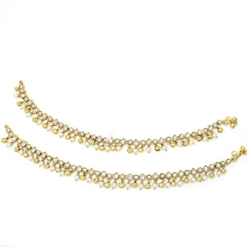 Indian Jewelry Anklet Payal Mihika
