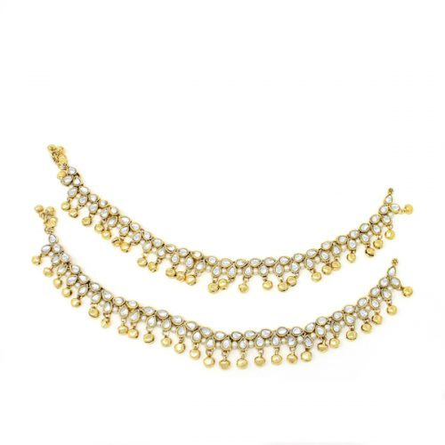 Indian Jewelry Payal Anklet Jhanjar Myra