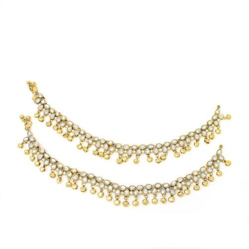 Indian Jewelry Payal Anklet Jhanjar Myra