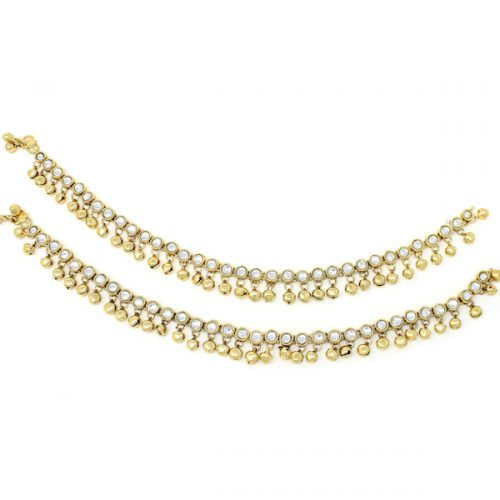 Indian Jewelry Payal Anklet Jhanjar Navika