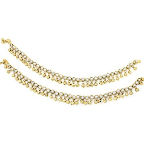 Indian Jewelry Payal Anklet Jhanjar Navika