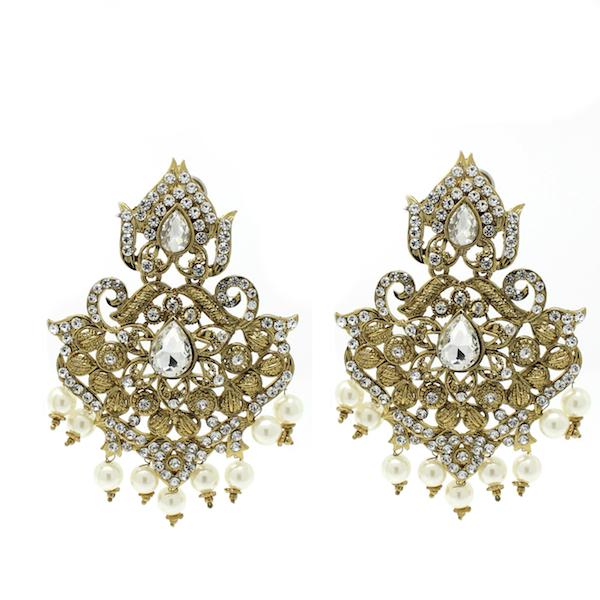 Indian Jewelry Jhoomar Tikka Set